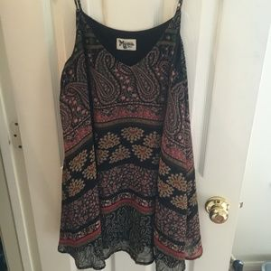 Mini dress, paisley